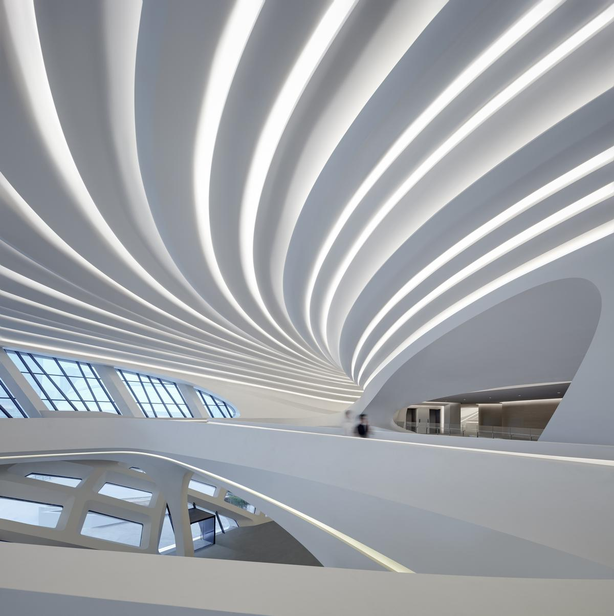 The newly opened MICA contemporary art museum houses eight galleries / Virgile Simon Bertrand