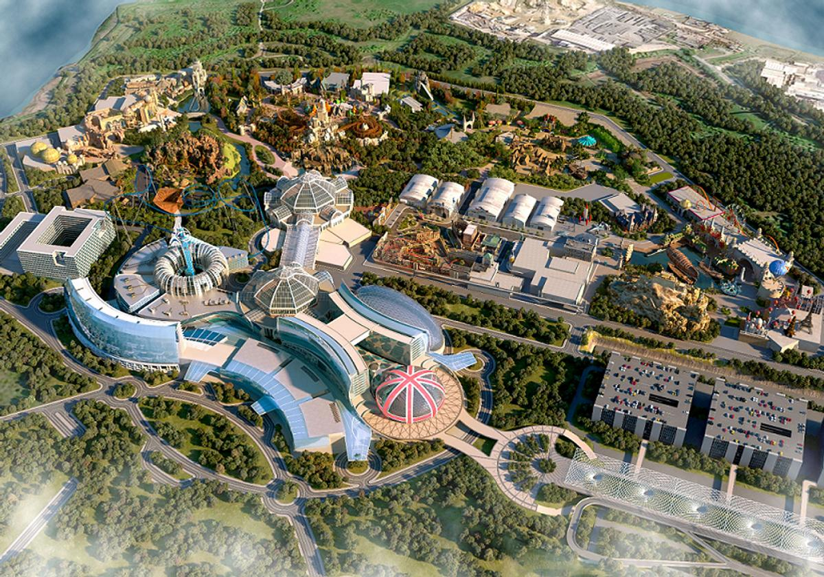 Phase one of the park is expected to open in 2024