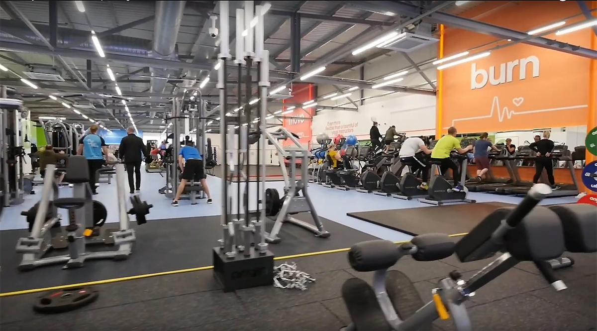 The first small box site opened in Newark, Nottinghamshire on 11 November 2019 / The Gym Group