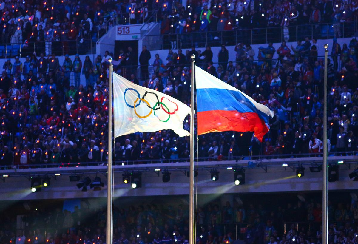 Russia has been banned from taking part at the 2020 Olympic Games and 2022 FIFA World Cup / Shutterstock