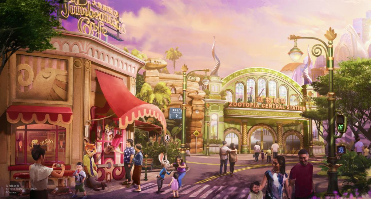<i>Zootopia</i> will be the second major expansion so far at Shanghai Disney Resort / Shanghai Disney Resort