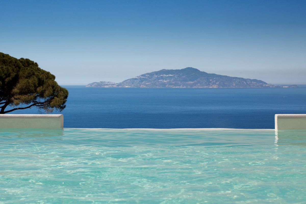 The hotel is home to a medi-spa – called Capri Beauty Farm.