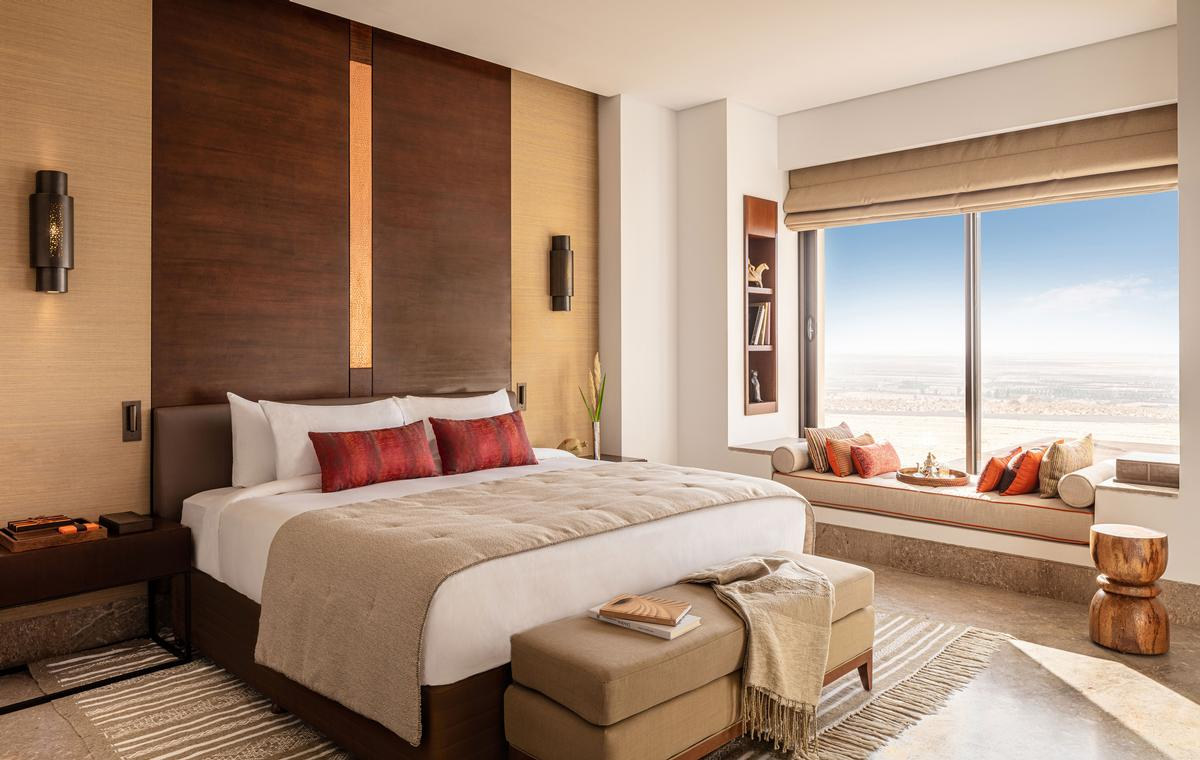 French brand RKF Luxury Linen was also brought on board by Anantara to design the resort's linen.