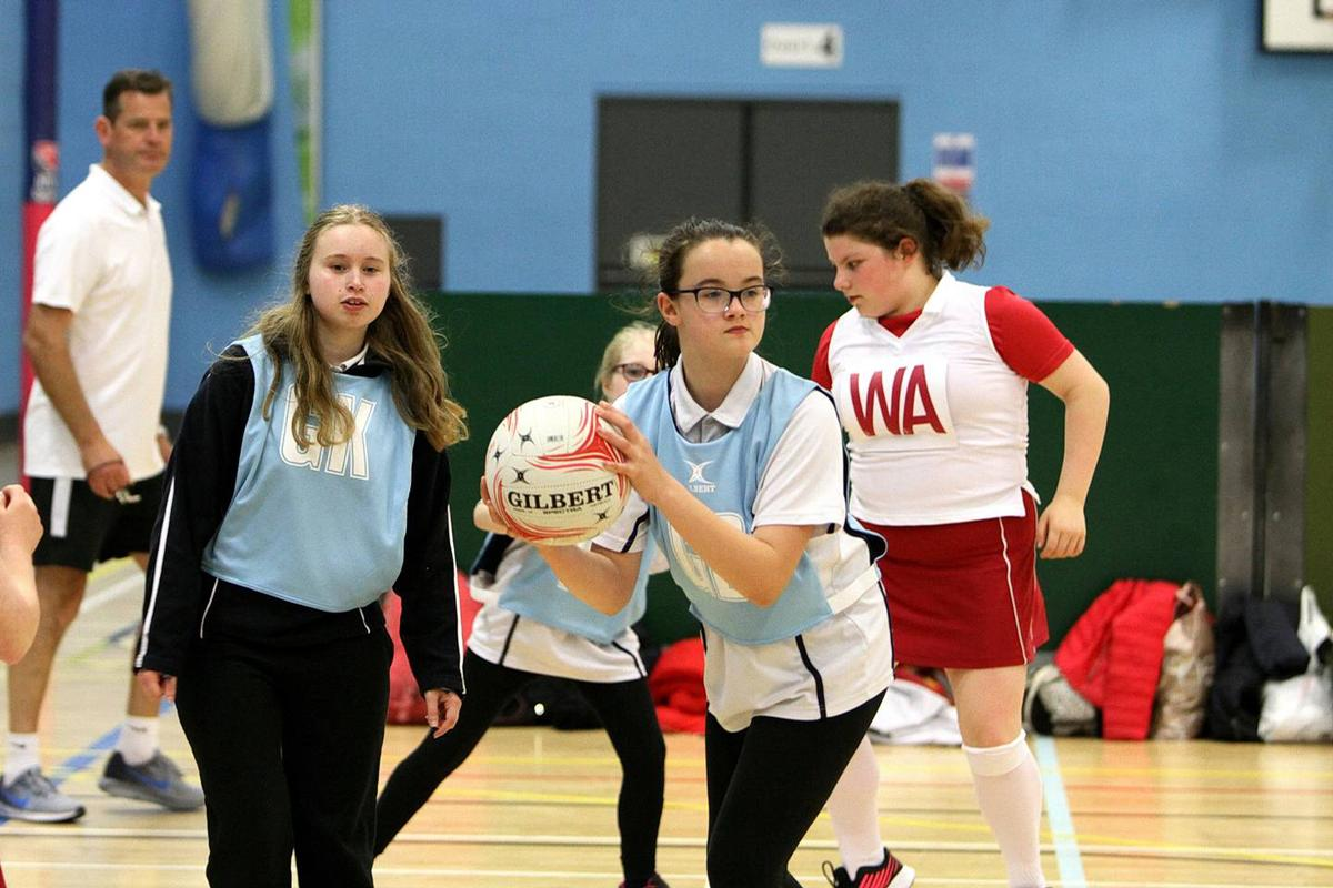 while nearly 1 million people played netball during 2017-18, only 448 deaf and disabled people took part in an England Netball session during that period / England Netball