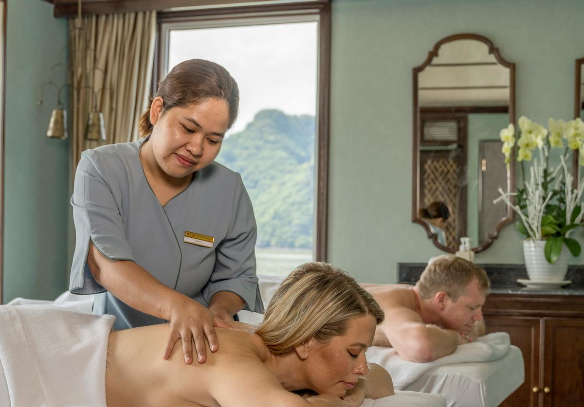 Thalgo has been selected to supply treatments in the on-board spa, which has three treatment rooms located on the upper deck.