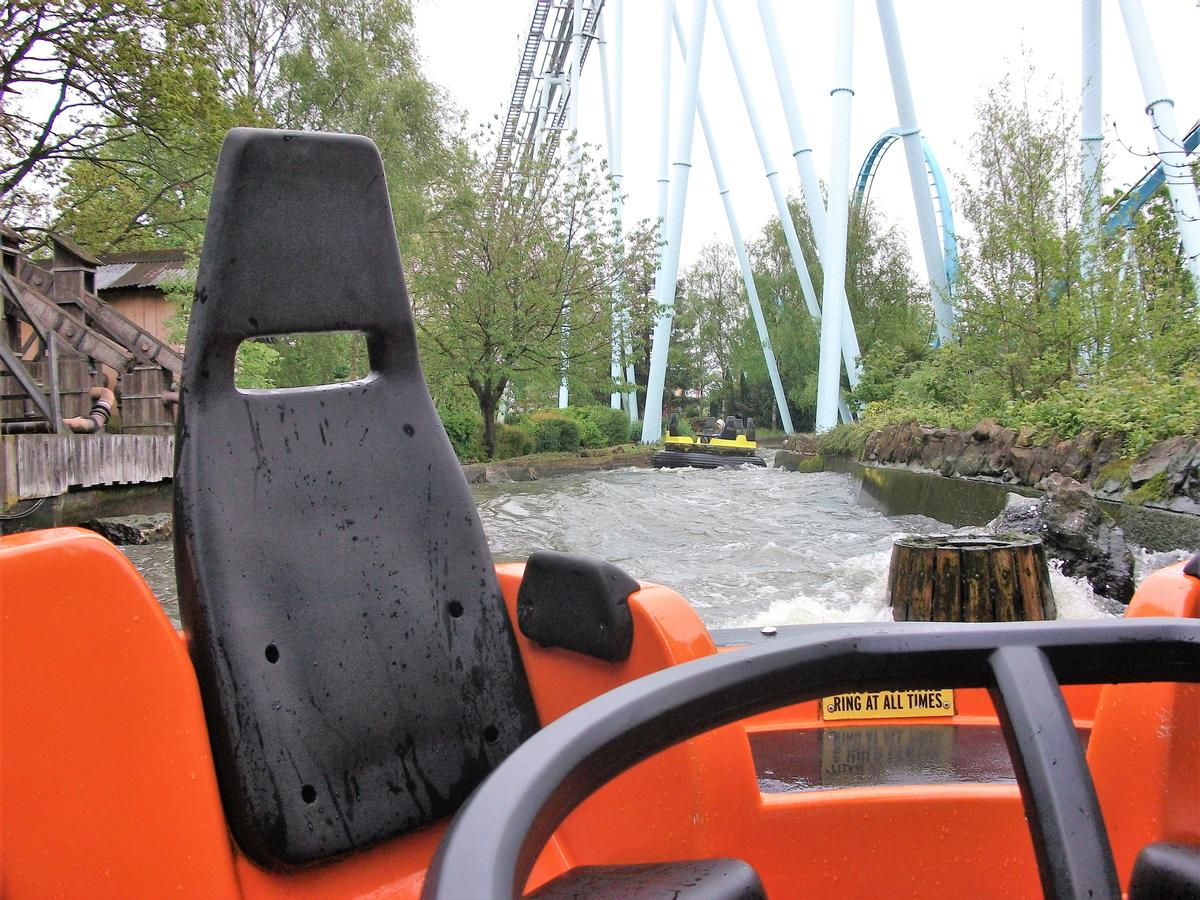 The Splash Canyon ride at Drayton Manor has been closed since the incident in May 2017 / Shutterstock