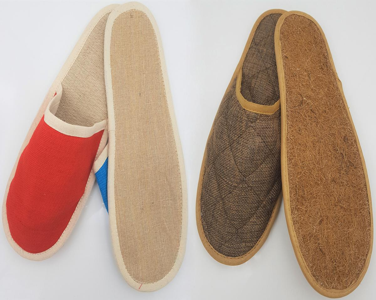 Urban Nature's spa slippers are designed for multiple-uses and are made from natural, sustainable materials