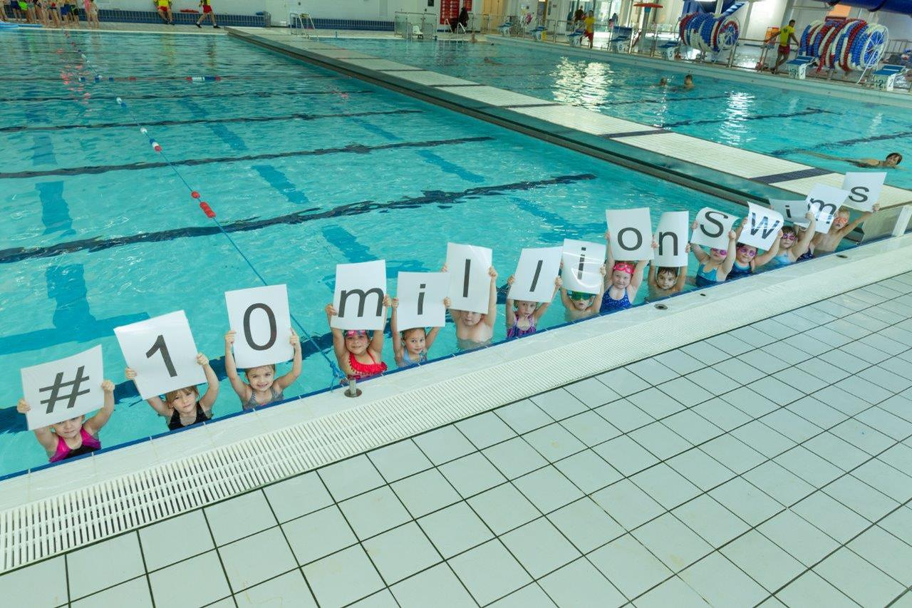 The campaign achieved a total of 13,146,261 swims / Everyone Active
