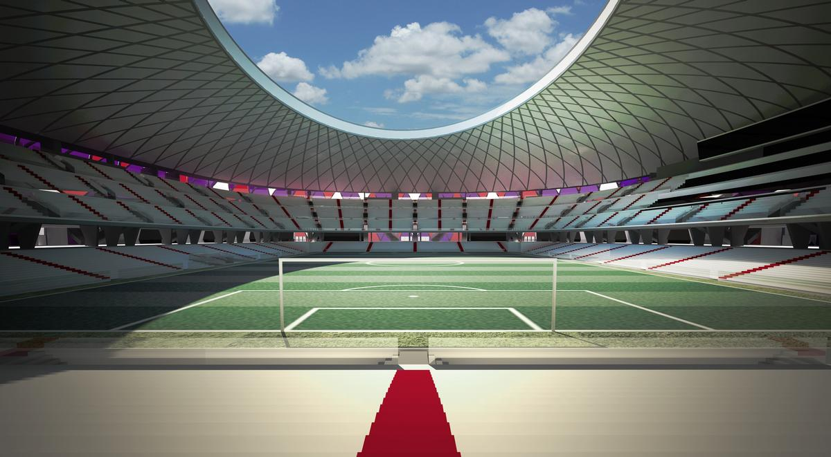 It is designed with a capacity for 40,000 fans / Pierattelli Architetture