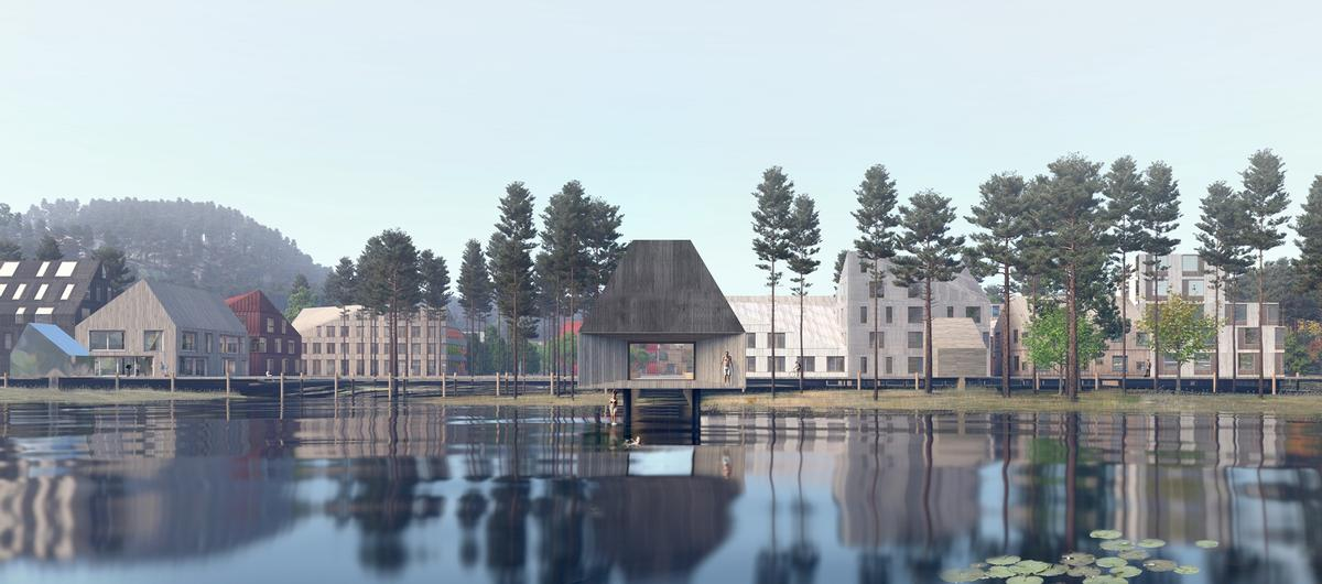Martineåsen Nature Town has been designed in partnership with Larvik Municipality / Mad Arkitekter