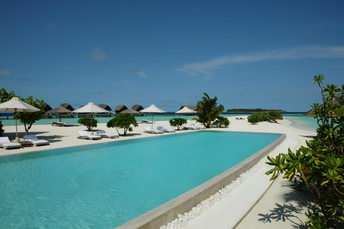 The resort includes a two-floor gym and hydrotherapy pool with purpose-built high-pressure jets.