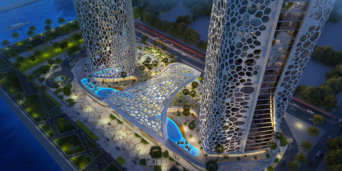 The hotel and residences are scheduled to open in 2022 / Rosewood Hotels & Resorts