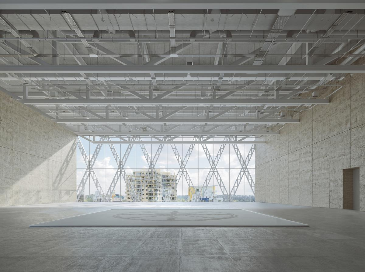 Seven flexible spaces will allow the museum to host a variety of exhibitions and immersive experiences / Moreau Kusunoki / Genton