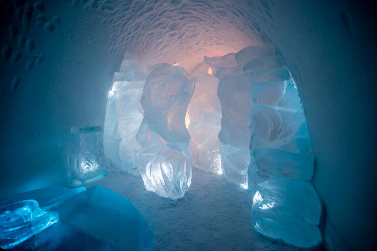 Art Suite Spring Dream | Design Lei Zhao & Yong Zhao / Asaf Kliger / Icehotel