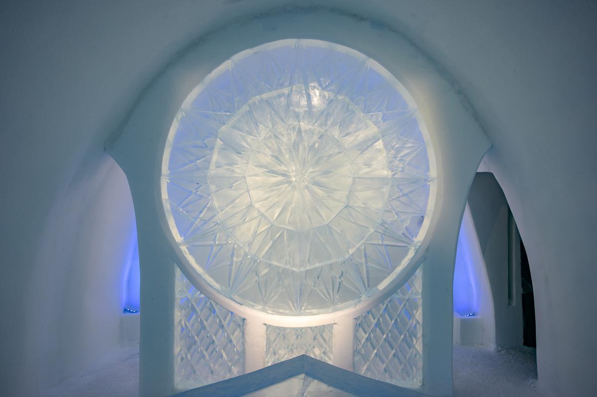 Art Suite Kaleidoscope | Design Natsuki Saito & Shingo Saito / Asaf Kliger / Icehotel
