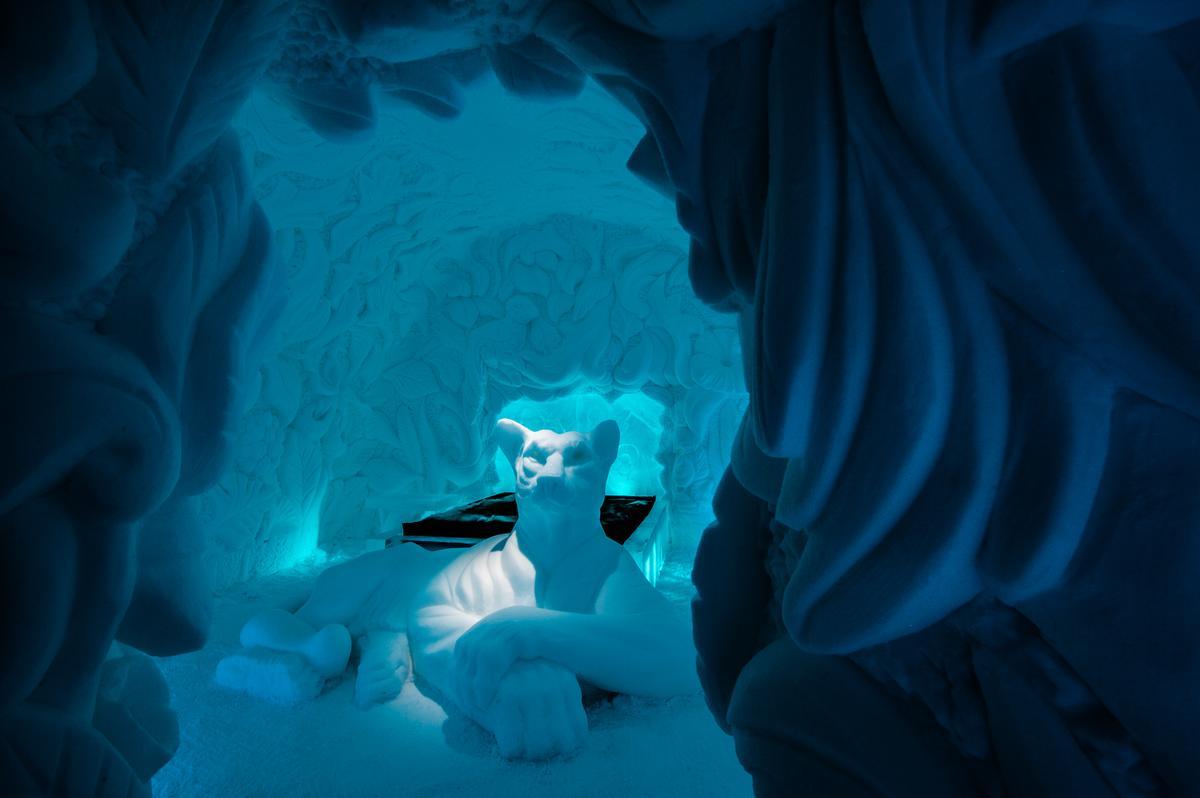 Art Suite Feline Lair | Artists Brian Alvin McArthur & Dawn Marie Detarando / Asaf Kliger / Icehotel