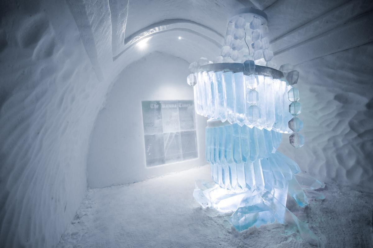 Art Suite The Day After | Design Marjolein Vonk &Maurizio Perron / Asaf Kliger / Icehotel