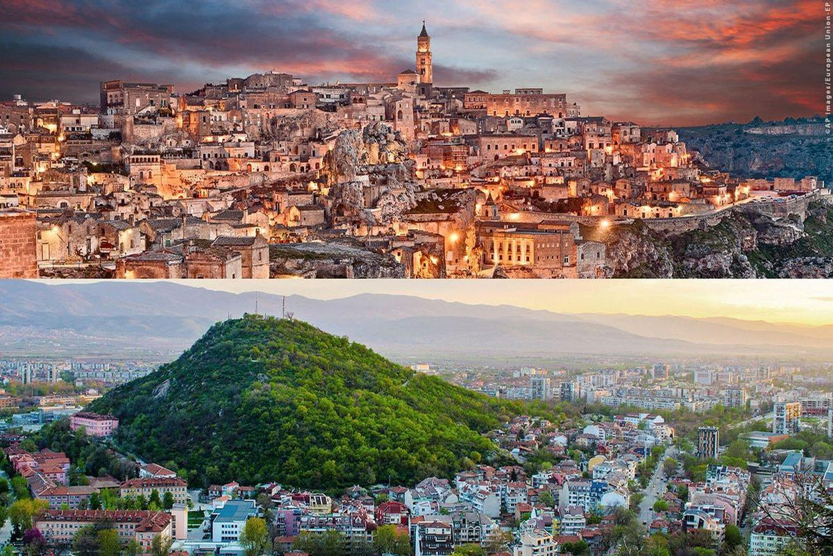 Matera in Italy and the Bulgarian city of Plovdiv assumed the mantle of European Capitals of Culture for 2019