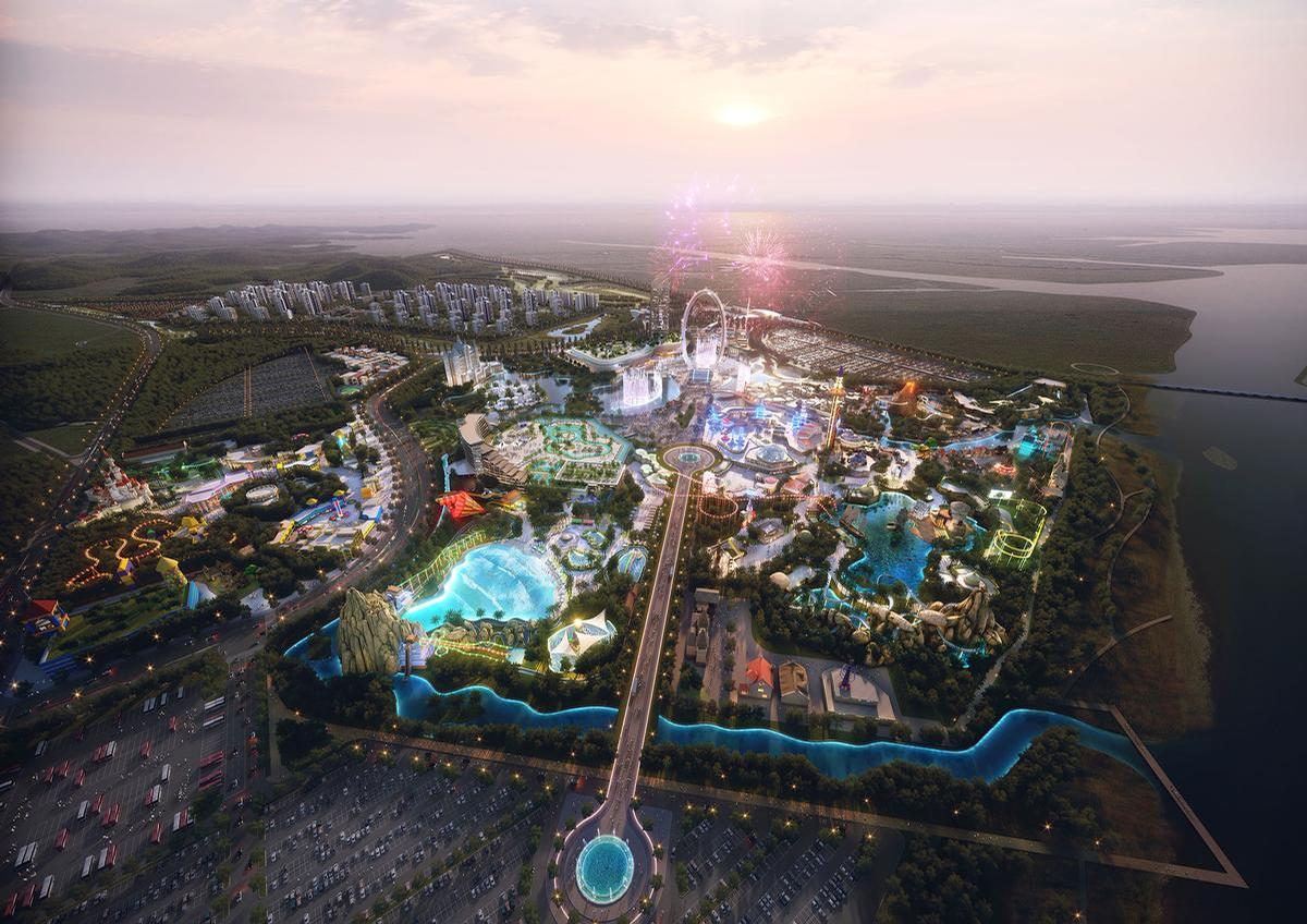 Work on the US$4bn theme park in Hwaseong, Korea is due to begin in 2021, with a potential opening date in 2026