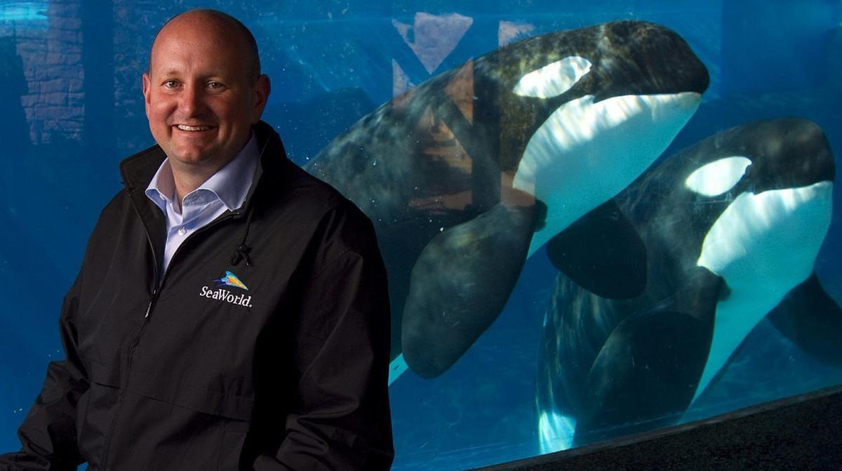 John Reilly worked at SeaWorld for 34 years