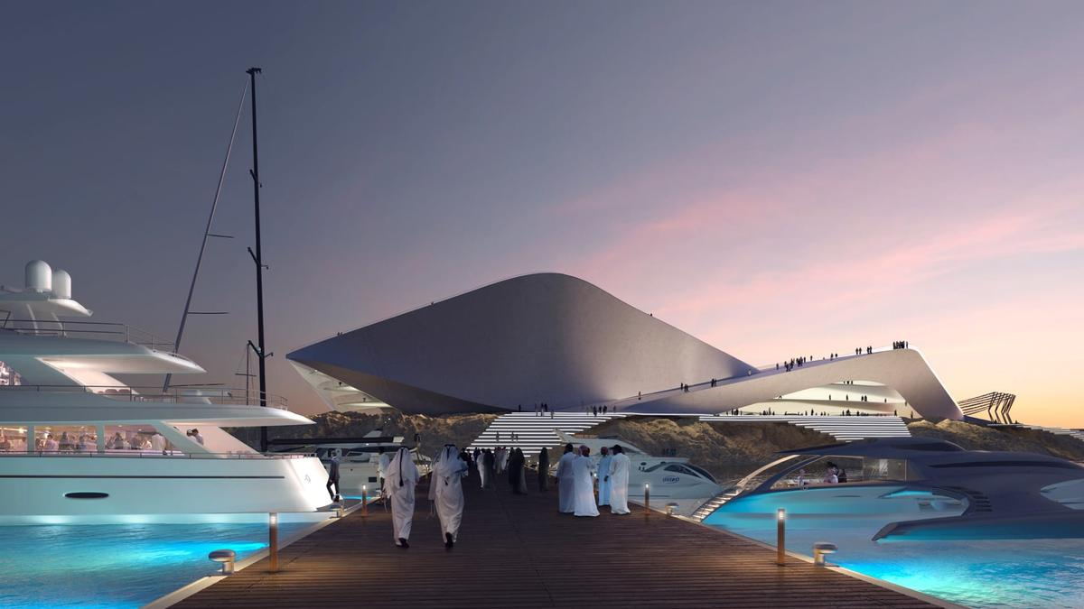 The resort will also include a yacht club.