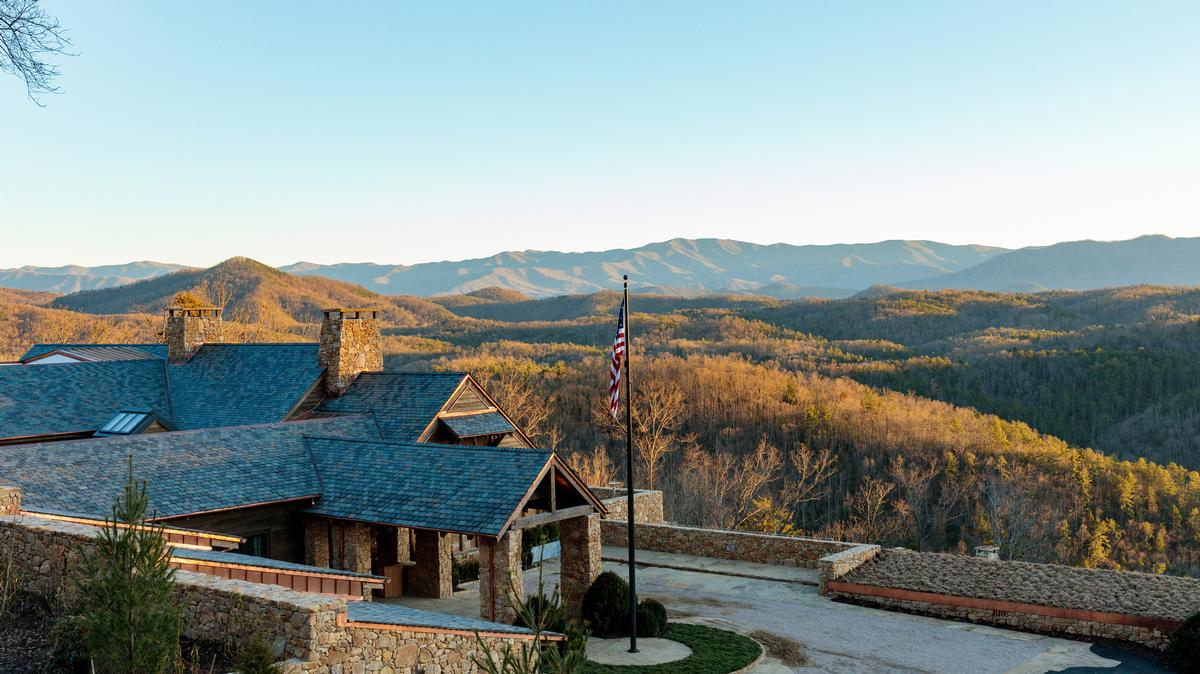 Blackberry Mountain Resort is located in the Great Smoky Mountains, Tennessee.