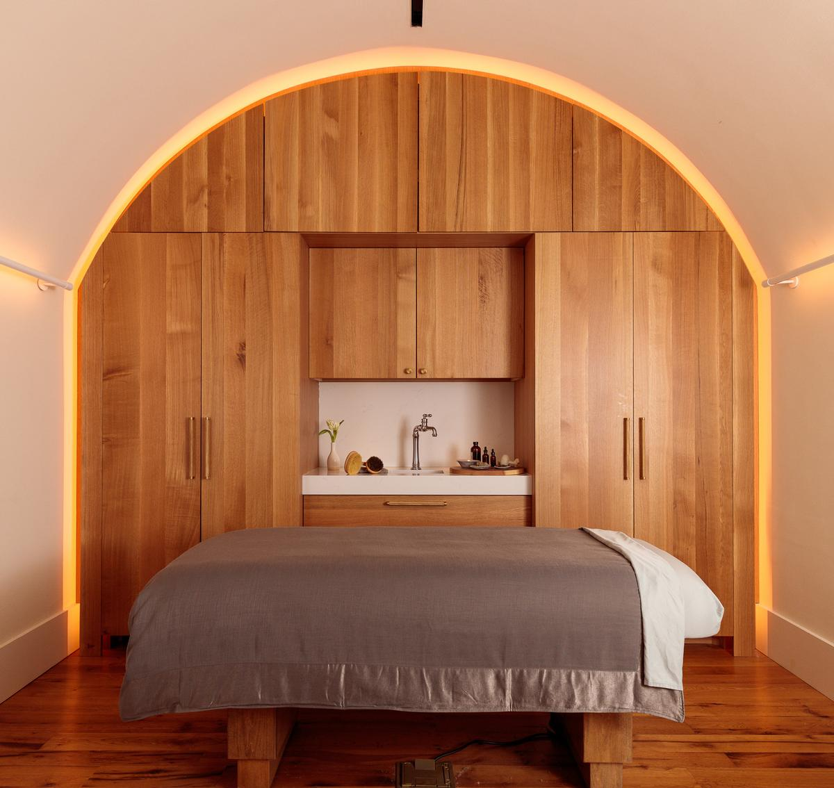 Guests will also be able to visit Blackberry Mountain's spa, called Nest.