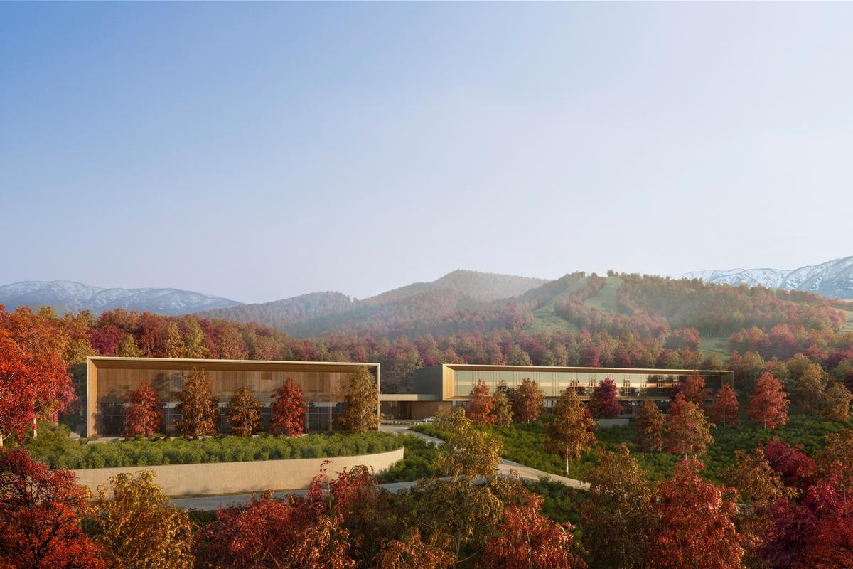 The resort will accommodate 30 guest rooms and 31 residences / Aman Resorts