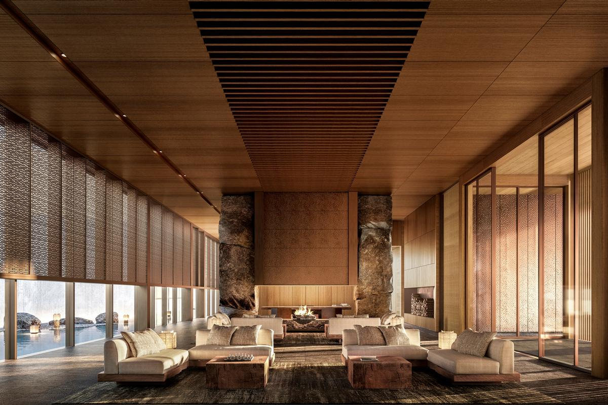 The resort will be Aman's fourth in Japan / Aman Resorts