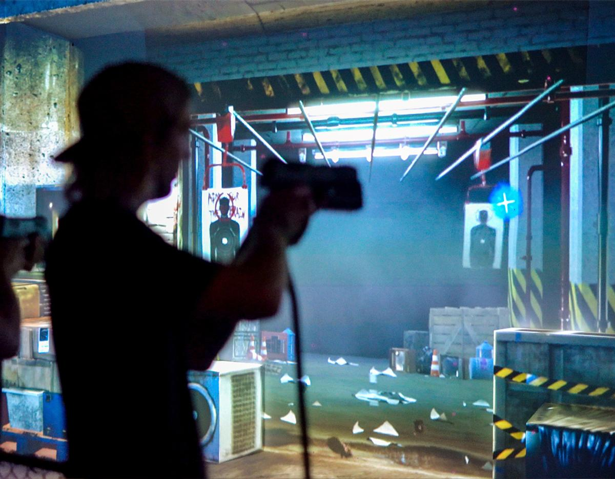 Fear The Walking Dead Survival combines a thrill ride and haunted house attraction with an interactive motion ride
