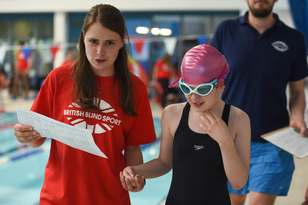 The research will explore whether any link exists between a child's sight levels and physical health levels, including measuring motor skills.  / British Blind Sport