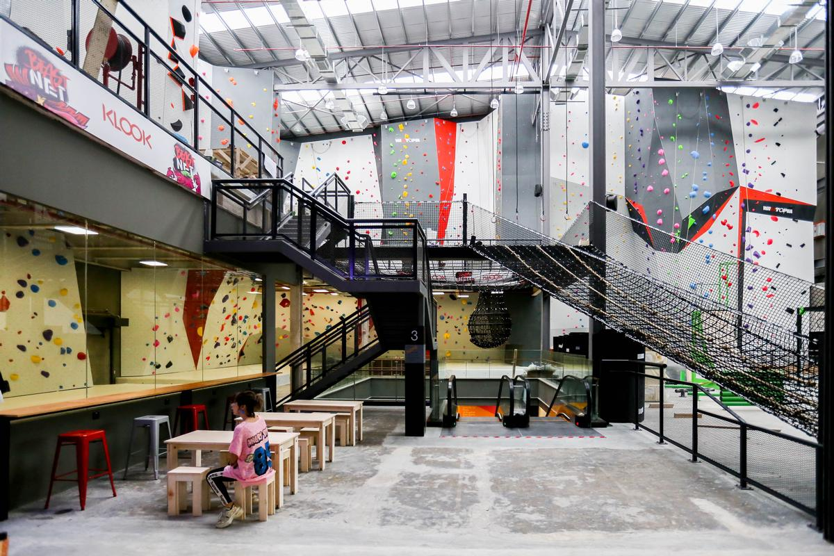 Beast Park is located in the Bukit Bintang shopping and entertainment area of Kuala Lumpur