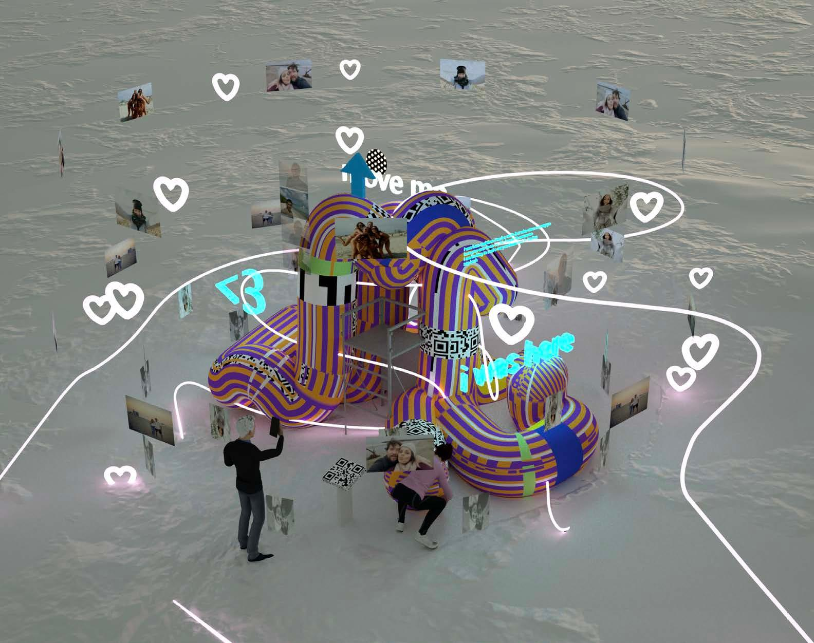 Noodle Feed, by iheartblob / Winter Stations