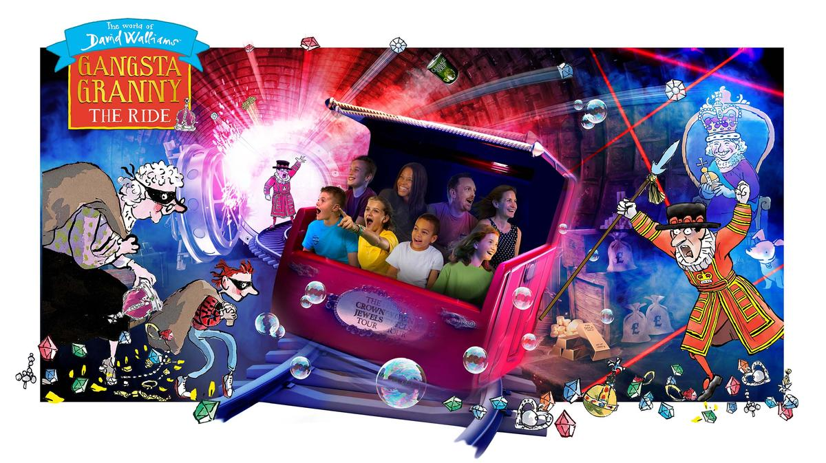 <i>Gangsta Granny: The Ride</i> is due to open in Q2 2020