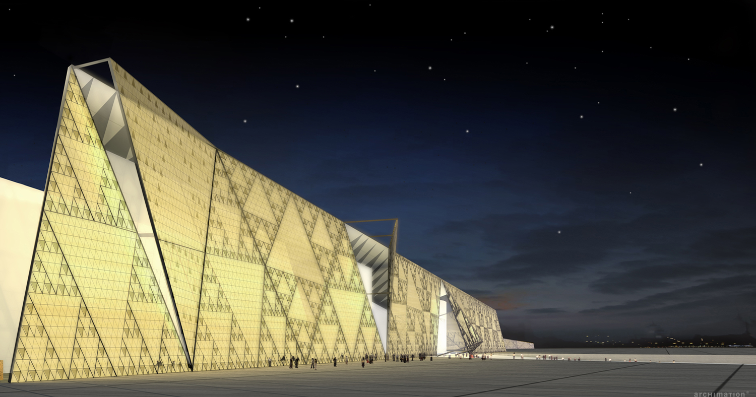 Heneghan Peng Architects-designed Grand Egyptian Museum to open at end of 2020