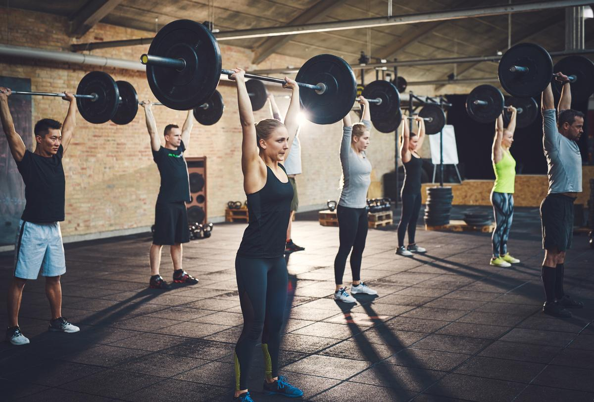 The Mintel figures show that 58 per cent of gym-goers say classes are the main reason they visit a club / Shutterstock