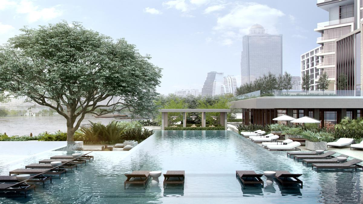 Jean-Michel Gathy's Four Seasons Hotel Bangkok at Chao Phraya River approaches opening