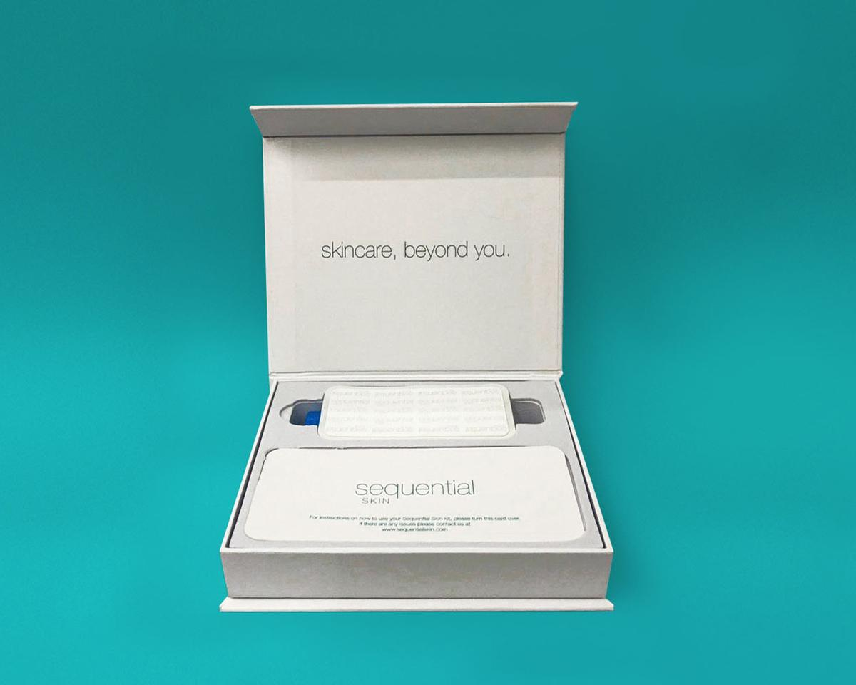 The Sequential Kit could be used in spas as a retail line or to personalise treatments