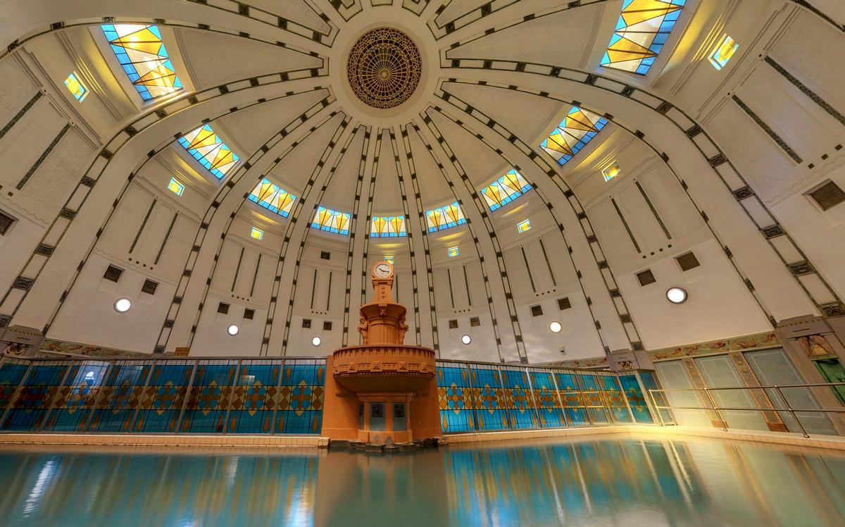 The new wellness and relaxation centre at Thermia Palace builds upon the Art Noveau property's health and wellbeing facilities housed at the historic Irma Spa, which dates back to 1912