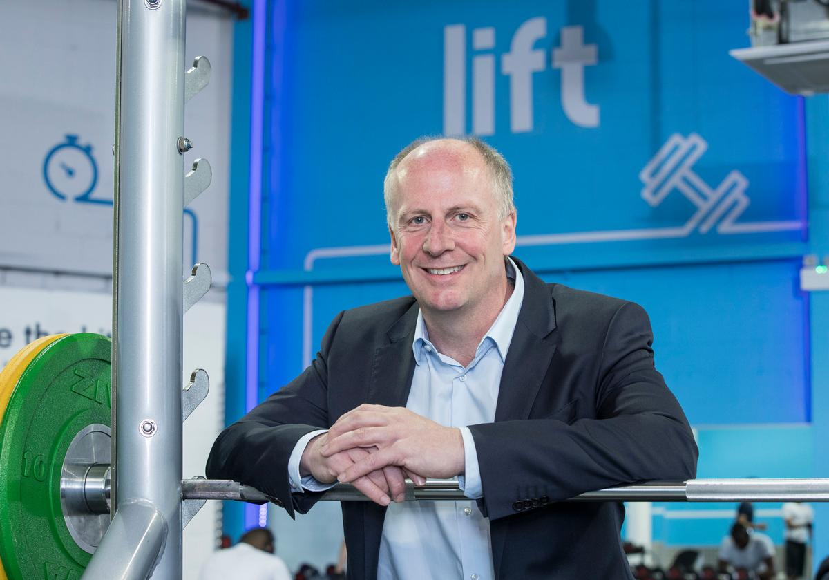 The Gym Group CEO Richard Darwin described 2019 as a 'very successful year' for the firm / The Gym Group
