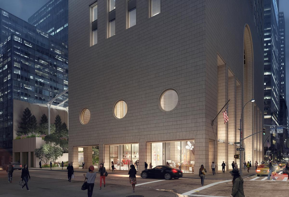 550 Madison is currently being renovated by co-owners Olayan Group / LMNB & Snøhetta