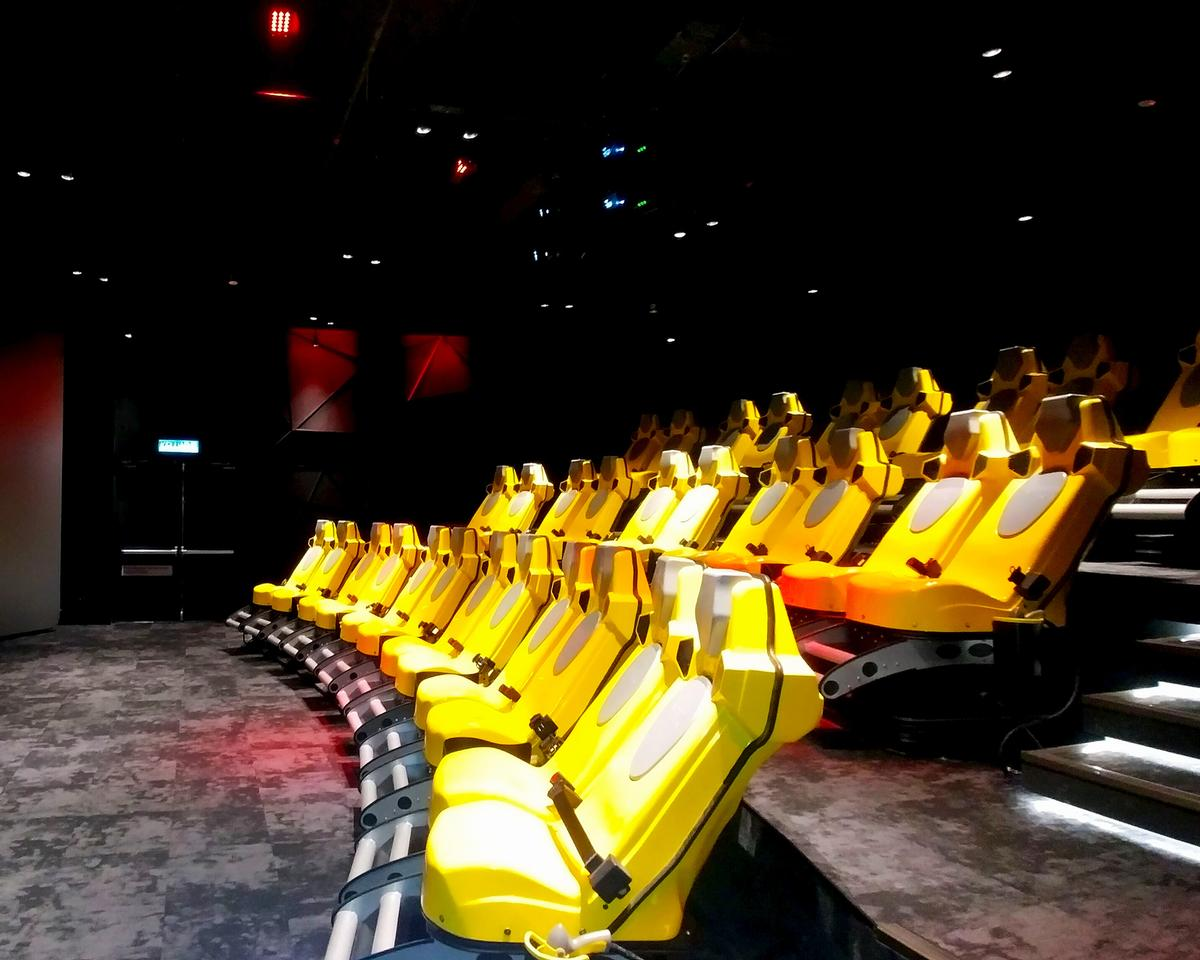Triotech has installed a 32-seat Triotech XD Dark Ride Interactive Theatre, the largest in Southeast Asia, at Resorts World Genting's Skytropolis indoor theme park