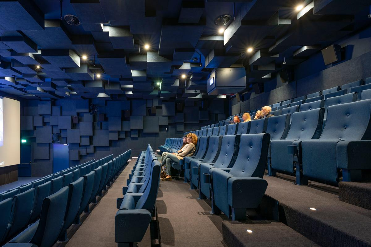 Auditoriums provide locations for film screenings / Marcel van der Burg