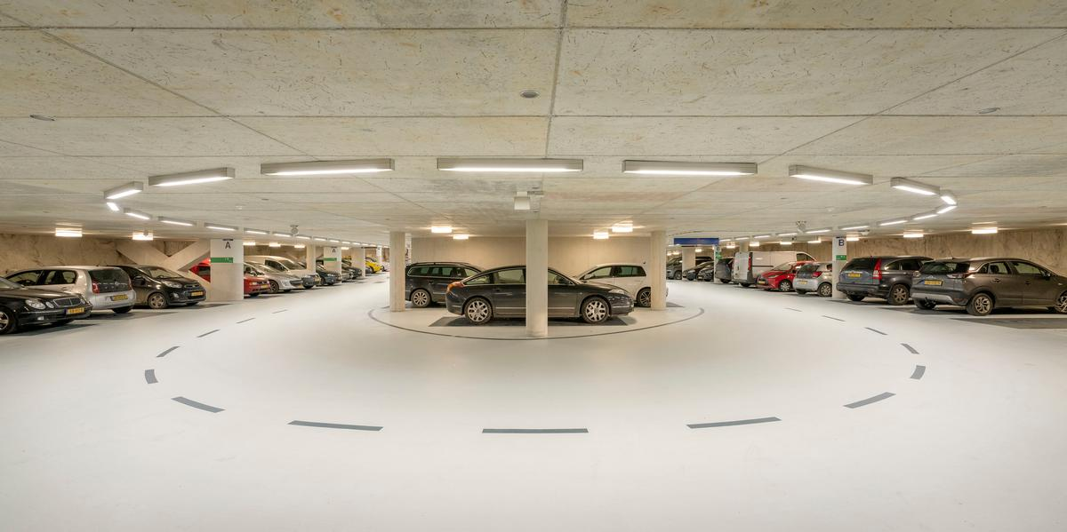 There is also 10,000sq m (108,000sq ft) for car parking / Marcel van der Burg
