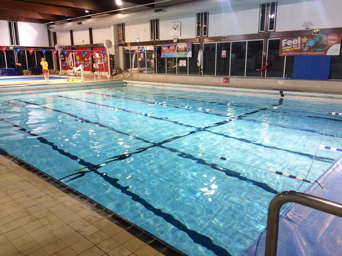 The existing Grange Paddocks Leisure Centre (pictured) will be replaced with a new building / East Herts Council