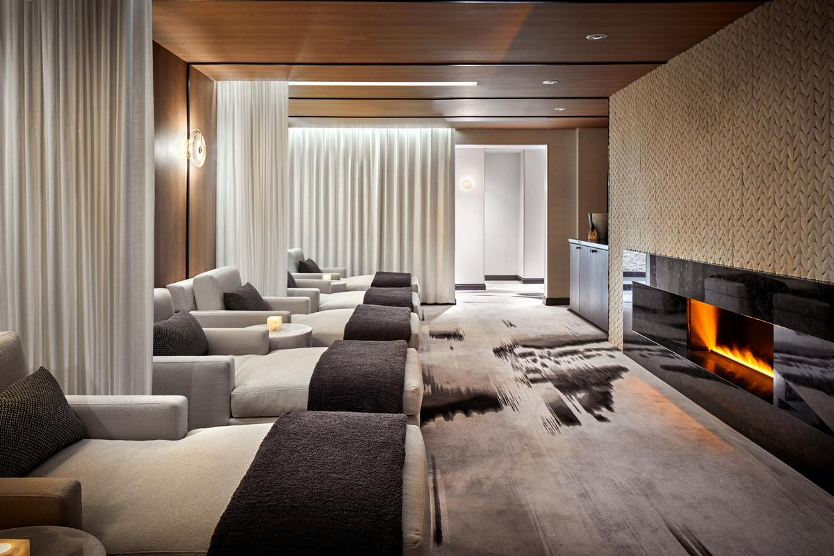 The spa was part of a US$6m resort-wide refurbishment