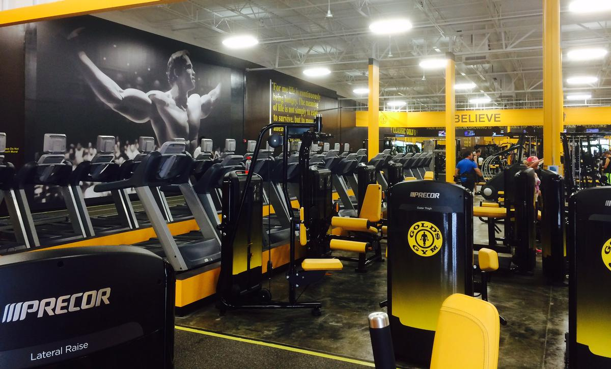 The franchised fitness giant's growth during the year focused on emerging markets / Gold's Gym