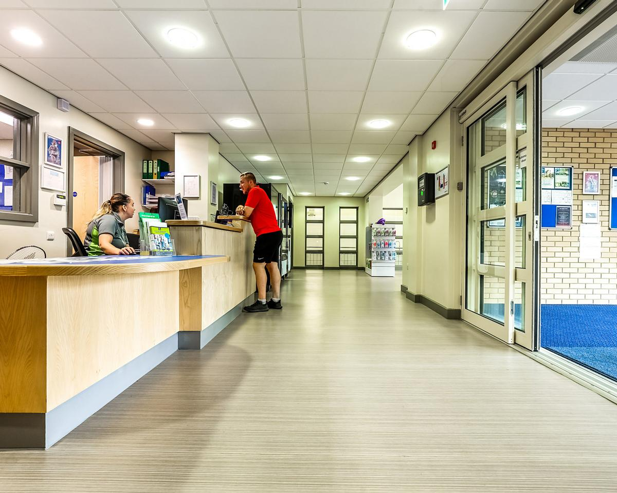 A total of five of Gerflor's flooring solutions were installed throughout the centre by Paynters Contract Flooring