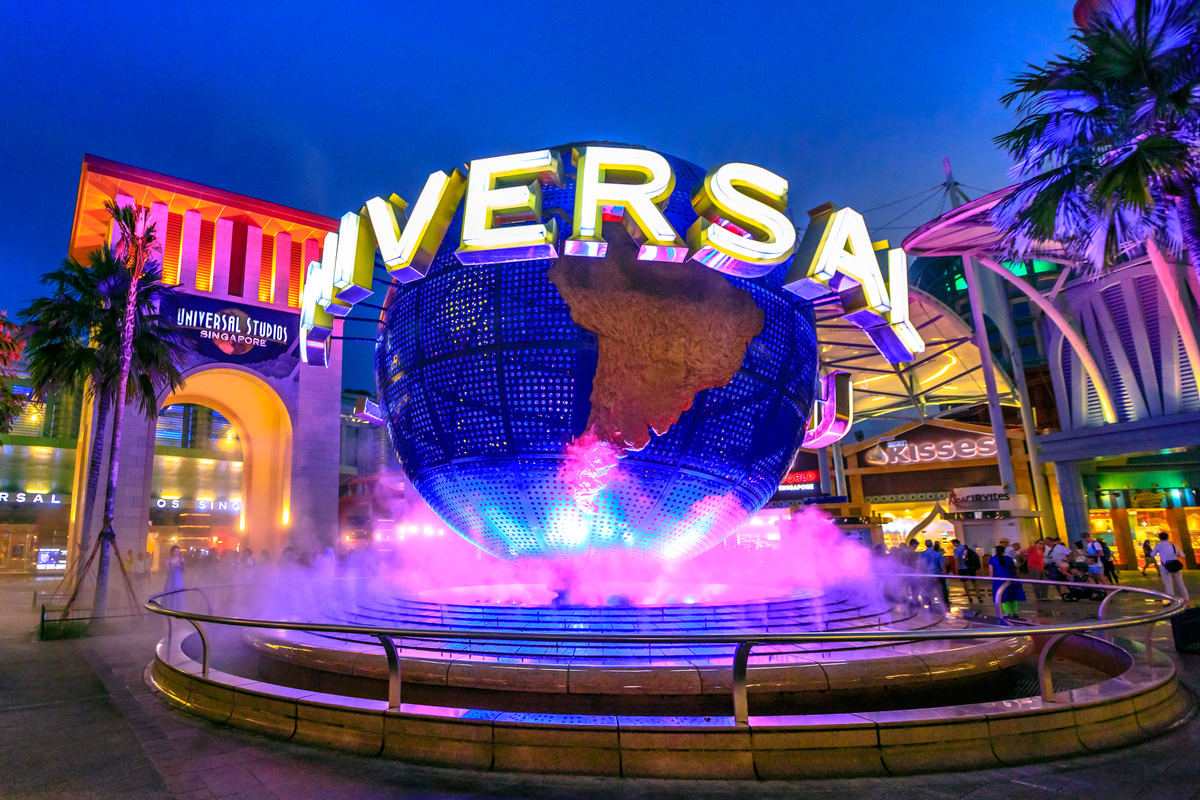 Universal revenue is up by roughly US$200m