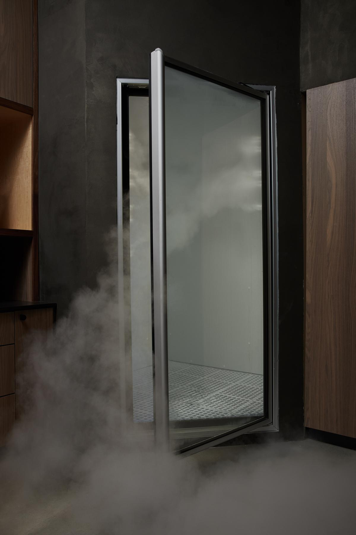 The centre also features an infrared sauna